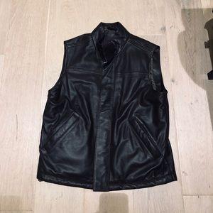 Robert Talbott Men's Leather Vest